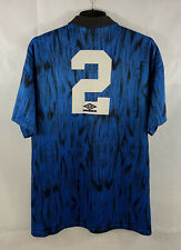 Manchester United Parker 2 Matchworn Away Football Shirt 1992/93 (XL) Umbro B2