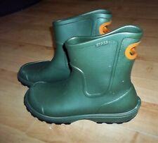 Crocs Mens Pull On Croslite Welly Wellington Rain Boot  Size 10