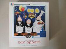 2 Ceaco Bon Appetit 300 Piece Puzzles