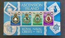 Ascension 1972 Royal Naval Crests