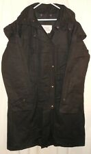 Duster Trench Coat Oiled Cotton Cowboy Rain Gear Trail Dusters Large