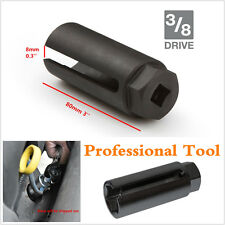 Black 7/8'' 22mm Auto Car Oxygen Sensor 3/8'' 10mm Drive Socket O2 Removal Tool
