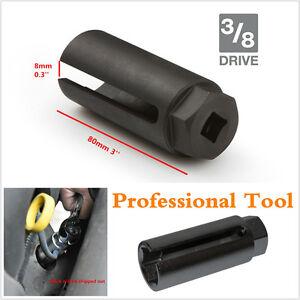 Black 7/8'' 22mm Auto Car Oxygen Sensor 3/8'' 10mm Drive Socket O2 Removal Tool