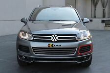 VW TOUAREG 10-14 NEW GENUINE FRONT BUMPER N/S LEFT LOWER GRILL 7P6853665
