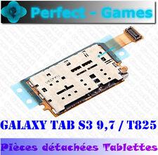 Samsung Galaxy Tab S3 9.7 T825 lecteur carte SIM mémoire micro SD card reader