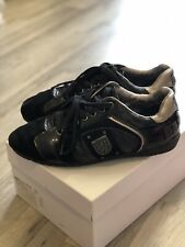mens black suede replay shoes size 7