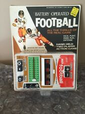 1978 Galoob MVP Football Vintage Hand-Held Electric Game W/ Box Sealed RARE Wow