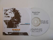 RIMAS feat. DAVID LINX : RICARDO TETE - GERINGONCA [ CD SINGLE ] ~ PORT GRATUIT
