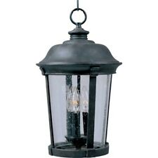 Maxim Dover VX 3-Light Outdoor Hanging Lantern Bronze - 40099CDBZ