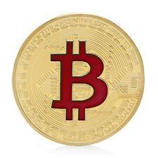 Bitcoin Coin Münze Mining Miner Medaille Sammelmünze 9 Farben DE