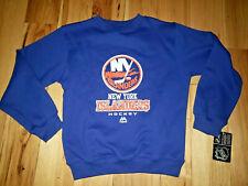 Boys Youth Majestic New York Islanders Sweatshirt Shirt Size Medium M New NWT
