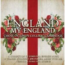 CAMBRIDGE KING'S COLLEGE CHOIR/+ - ENGLAND MY ENGLAND 2 CD CHOR KLASSIK NEW+