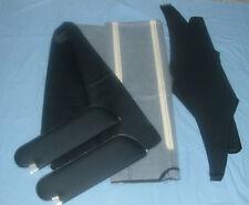 1968 skylark GS new sun visors & headliner black non  perforated