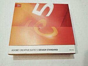 ADOBE CREATIVE SUITE 5 DESIGN STANDARD (3 DISCS) FOR MACINTOSH MAC OS SOFTWARE