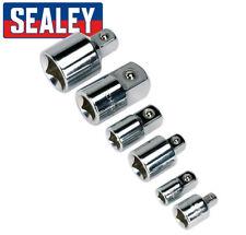 Sealey SOCKET ADAPTOR SET Increaser / Reducer 1/4 3/8 1/2 3/4  Drive 6pc