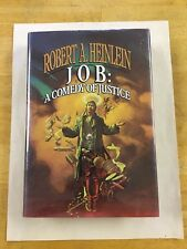 Job A Comedy of Justice Robert Heinlein vintage science fiction hardcover 1st Ed