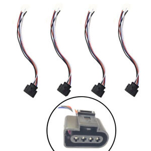 4 X New Ignition Coil Connectors Repair Harness Plug Wiring For VW Jetta Audi A4