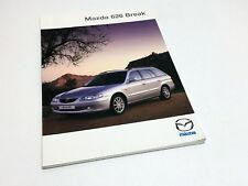 2000 Mazda 626 Break Brochure - French