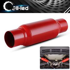 "High Performance Race Muffler Exhaust 2.5"" Inlet/Outlet 12"" Long Cherry Bomb"