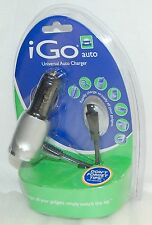 NEW iGo Universal Auto Charger Car DC & Travel System power adapter cell phone