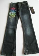 Ed Hardy Girls Love Kills Slowly Jeans (14) NWT