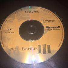 AGE OF EMPIRES III DISC 2 ONLY pc disc only no case