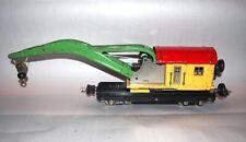 Lionel Prewar O Gauge 810 Operating Crane or Derrick Car! PA