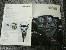 BROCHURE MOTO GUZZI 1000 - SP ENGLISH LANGUAGE 6 PAGES PH702