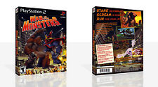 War Of The Monsters PS2 Replacement Game Case Box + Cover Art Work (No Game)