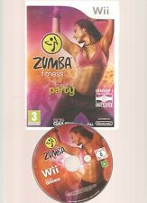 ZUMBA FITNESS JOIN THE PARTY + Ceinture !!! Le Meilleur de la Série Culte Wii