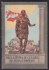CALENDARIETTO PIETRO VERA 1937 DALLA ROMA ... al NUOVO IMPERO - FASCISMO A.O.I.