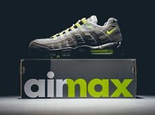 """DS Nike Air max 95 OG Neon Green """"Size 8"""" 554970 071 2015 Limited Edition"""