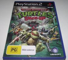Teenage Mutant Ninja Turtles Smash Up PS2 PAL *No Manual*