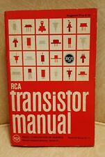 Rca Transistor Manual. By Radio Corporation Of America