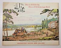 1834 - 1959 Schenectady Savings Bank 125th Anniversary This is Your City Booklet