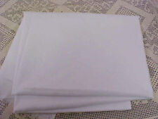 Fabric White Soft Cotton Manufacturer Unknown 45 x 54 Has Been laundered