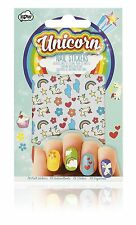 Self Adhesive Rainbow Unicorn Nail Stickers.  Nail art transfers. Beauty.