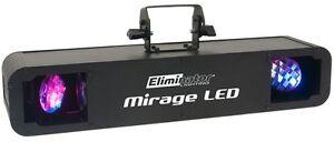 ELIMINATOR LIGHTING MIRAGE LED RGBW DJ LIGHT BAND KARAOKE CLUB PRO DJ