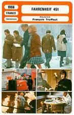 FICHE CINEMA : FAHRENHEIT 451 - Christie,Werner,Truffaut 1966
