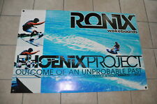 "RONIX ERIC RUCK PHOENIX BANNER 32"" * 48"" 2 Free Wakeboard DECAL Stickers"