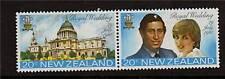 New Zealand 1981 Royal Wedding SG1247/8 MNH