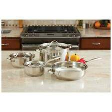 Ever Clad™ 7pc Heavy Duty Stainless Steel Cookware Set KT7