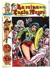 Reprint: LA REINA DE LA COSTA NEGRA #10 - 1960s Mexican Conan B&W comic book