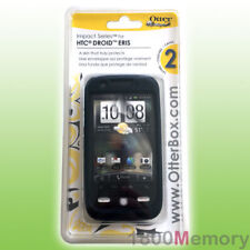 GENUINE OtterBox Impact Case for HTC Droid Eris Black with Screen Protector Film