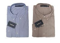 $165 Polo Ralph Lauren Mens Classic Fit Button Down Pony Logo Blue Dress Shirt