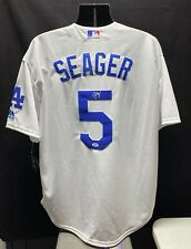 Corey Seager Signed Autograph Los Angeles Dodgers Majestic Jersey White PSA/DNA