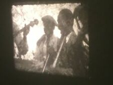 16mm Home Movie 1931 Black Jazz Band Fancy Country Club Group 200' AS IS