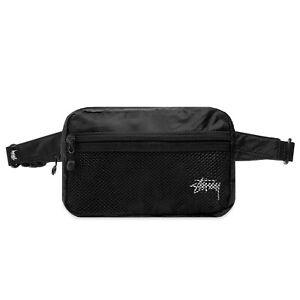 Stussy - Lightweight Waist Bag - Black
