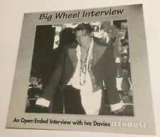 IVA DAVIES icehouse Big Wheel Interview CD 1994 Diva Records open-ended CDRP284