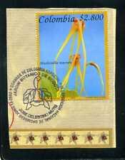 marcofilia>> ''ORCHIDS'',MASDEVALLIA MACRURA-  COLOMBIA  2003
